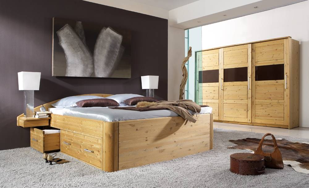 kleiderschrank dansk design massivholzm bel. Black Bedroom Furniture Sets. Home Design Ideas