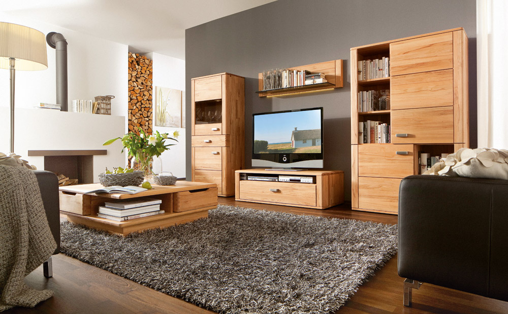 wohnzimmer massivholz dansk design massivholzm bel. Black Bedroom Furniture Sets. Home Design Ideas